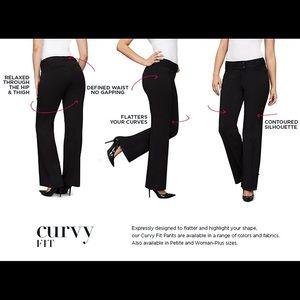 NWT Rafaella Curvy Pants 8P